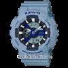 นาฬิกา Casio Baby-G ลายยีนส์ Special Color BA-110DE Denim fabric Elements series รุ่น BA-110DE-2A2 (สี Light Blue Jean) ของแท้ รับประกัน1ปี