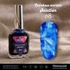 น้ำยาหินอ่อน Rainbow marble Solution รหัส 08 สีน้ำเงิน