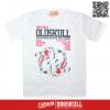 เสื้อยืด OLDSKULL : EXPRESS CARP | WHITE XL