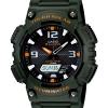 นาฬิกา คาสิโอ Casio SOLAR POWERED รุ่น AQ-S810W-3AV (เขียวทหาร)
