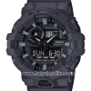 นาฬิกา คาสิโอ Casio G-Shock Special Color GA-700UC Military Utility Color series รุ่น GA-700UC-8A สี Dark Gray (ไม่วางขายในไทย) ของแท้ รับประกัน 1 ปี