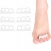 ซิลิโคนจัดระเบียบนิ้วเท้าไม่ให้ซ้อนหรือติดกัน (x3คู่)