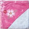 ผ้าห่อตัวคอตตอนแท้ 100% (สินค้าแบรนด์) ขนาด 76*87 cm.