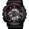 นาฬิกา คาสิโอ Casio G-Shock Standard Analog-Digital รุ่น GA-110-1A (DARK SAMURAI)
