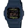 นาฬิกา คาสิโอ Casio G-Shock Tough Solar Limited Military Navy Blue series รุ่น GW-M5610NV-2 MultiBand6 (Europe) ไม่มีขายในไทย (สินค้าหายากมาก)