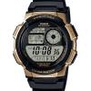นาฬิกา คาสิโอ Casio แบตเตอรี่ 10 ปี GOLD Color Acccent series รุ่น AE-1000W-1A3V ของแท้ รับประกัน 1 ปี