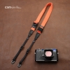สายคล้องกล้องเส้นเล็กปรับสายสั้นยาวได้ Cam-in รุ่น Ninja สีส้ม 25 mm