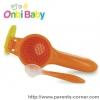 อุปกรณ์บดอาหาร แบบพกพา Onbi Baby - ส้ม