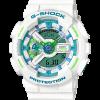 นาฬิกา Casio G-Shock Limited White & mint Green Color series รุ่น GA-110WG-7A ของแท้ รับประกัน1ปี
