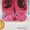 ถุงเท้าเด็กอ่อนมีกันลื่นอย่างดี (0-6 เดือน)