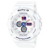 นาฬิกา Casio Baby-G White Tricolor series รุ่น BA-120TR-7B ของแท้ รับประกัน1ปี