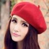 Pre-หมวกเบเร่ต์สวยๆ สไตล์เกาหลี สีแดง