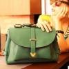 พร้อมส่ง-กระเป๋าสะพายยาวสีเขียว