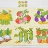 จิ๊กซอว์เสริมทักษะชุดเรียนรู้ผักต่างๆ
