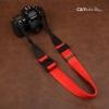 สายคล้องกล้องปรับสายสั้นยาวได้ Cam-in รุ่น Ninja สีแดง 38 mm