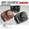 เคสกล้องหนัง Case Canon G1X MarkII G1X Mark2 - Classic Style