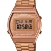นาฬิกา คาสิโอ Casio STANDARD DIGITAL Classic ROSE GOLD Tone รุ่น B640WC-5A