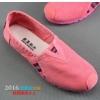 Pre-รองเท้าสไตล์Toms พื้นนุ่ม ใส่สบาย รองเท้าผ้าใบผู้หญิง รองเท้าทรงToms สีชมพู สีฟ้า สีม่วง สีขาว