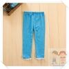 กางเกงเด็กสีฟ้าลายจุด ขนาด 100,110,120,130,140