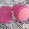 ตัวปั้มลายเล็บ หัวเล็ก สีชมพู 2.5 เซน