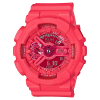 นาฬิกา คาสิโอ Casio G-Shock S-Series Vivid Colors รุ่น GMA-S110VC-4A (สี Coral ชมพูอมส้มเหลือบมุก) ของแท้ รับประกัน1ปี