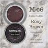 เจลต่อเล็บ Memory nail รหัส M06-2 กระปุกใหญ่ ขนาด 30ml สีกะปิ Rosy Brown