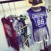 (SALE) เสื้อกั๊กสไตล์ฮาราจูกุ แต่งระบาย No.66 สีน้ำเงิน
