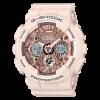 นาฬิกา คาสิโอ Casio G-Shock มินิ S-Series Metal Face series รุ่น GMA-S120MF-4A (สีชมพูไข่ไก่) ของแท้ รับประกัน1ปี