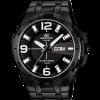 นาฬิกา คาสิโอ Casio EDIFICE 3-HAND ANALOG รุ่น EFR-104BK-1AV ใหม่ล่าสุด