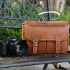 กระเป๋ากล้องแนว vintage Smart Leather Bag (M)