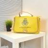 พร้อมส่ง-กระเป๋าถือสไตล์เกาหลี สีเหลือง