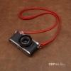 สายคล้องกล้องหนังแท้ cam-in Ultra slim สีแดง