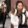 Pre-Order Milan Fashion Week catwalk raccoon fur shawl scarf **สินค้าPre-Order เปิดรับอีกครั้งวันที่ 1 กพ.60 ( ติดเทศกาลตรุษจีน ) ได้สินค้าประมาณต้นเดือนมีนาคม 60