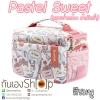 กระเป๋ากล้องผ้ากันน้ำ รุ่น Pastel Sweet น่ารักหวานๆ สำหรับ Mirrorless