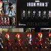Kids Nation Iron Man 3 EarPhone Plugy series 001 Set of 6 NEW