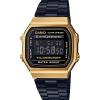 นาฬิกา คาสิโอ Casio STANDARD DIGITAL Vintage Black&Gold รุ่น A168WEGB-1B (ไม่มีขายในไทย) ของแท้ รับประกัน 1 ปี