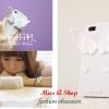 พร้อมส่ง-Case IPhone5สีขาวรูปปีก ใช้ตั้งได้