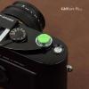 Soft Shutter Release รุ่น 11 mm ปุ่มเว้าลง สีเขียว กดง่ายสะดวก สำหรับ Fuji XT20 XT10 XT2 XE2 X20 X100 XE1 Leica ฯลฯ