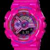 นาฬิกา Casio G-Shock Limited Multi-Color series Crazy Color 2016 รุ่น GA-110MC-4A (สี Shocking Pink) ของแท้ รับประกัน1ปี