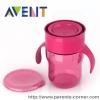 แก้วน้ำหัดดื่ม Philips AVENT BPA Free Natural Drinking Cup, 9 Ounces - ชมพู