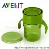 แก้วน้ำหัดดื่ม Philips AVENT BPA Free Natural Drinking Cup, 9 Ounces - สีเขียว