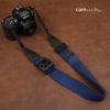 สายคล้องกล้องปรับสายสั้นยาวได้ Cam-in รุ่น Ninja สีน้ำเงิน 38 mm