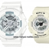 นาฬิกา คาสิโอ Casio G-Shock x Baby-G เซ็ตคู่รัก Punching Pattern series รุ่น GA-110LP-7A x BA-110PP-7A Pair set ของแท้ รับประกัน 1 ปี