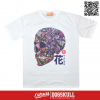 เสื้อยืด OLDSKULL : EXPRESS SUGAR SKULL | WHITE XL