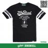 เสื้อยืด 7TH STREET - รุ่น 7TH TOP CITY| BLACK