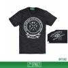 เสื้อยืด 7TH STREET - รุ่น Biker vintage | Top dry Black