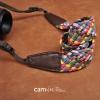 สายคล้องกล้อง cam-in Mosaic Colorful ลายโมเสกสดใส
