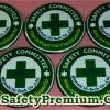ตัวอย่างเข็มกลัด Safety Committee คณะกรรมการความปลอดภัย