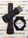 กรอบ สาย นาฬิกา G-shock ของแท้ สีดำด้าน กรอบดำอักษรเทา