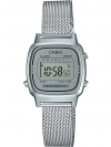 นาฬิกา Casio STANDARD DIGITAL LA670WEM Milanese series รุ่น LA670WEM-7 (สายแบบถัก) ของแท้ รับประกัน 1 ปี